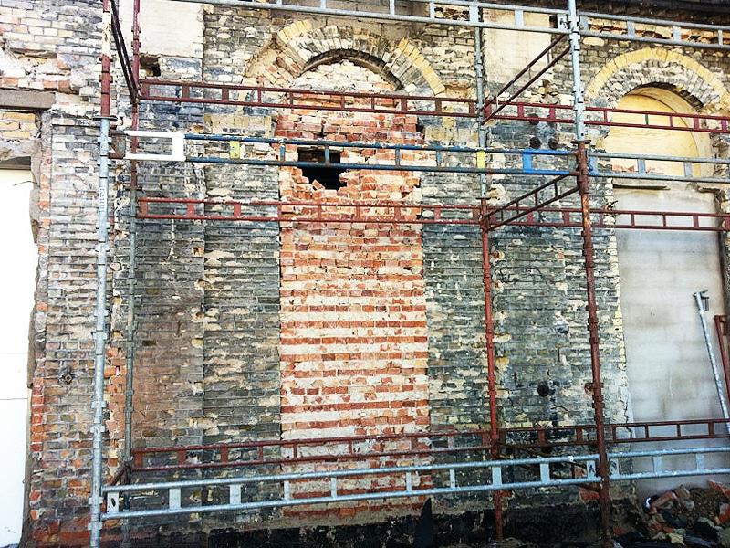 Fasad o kakel_Slagthuset Förbesiktning av väggar