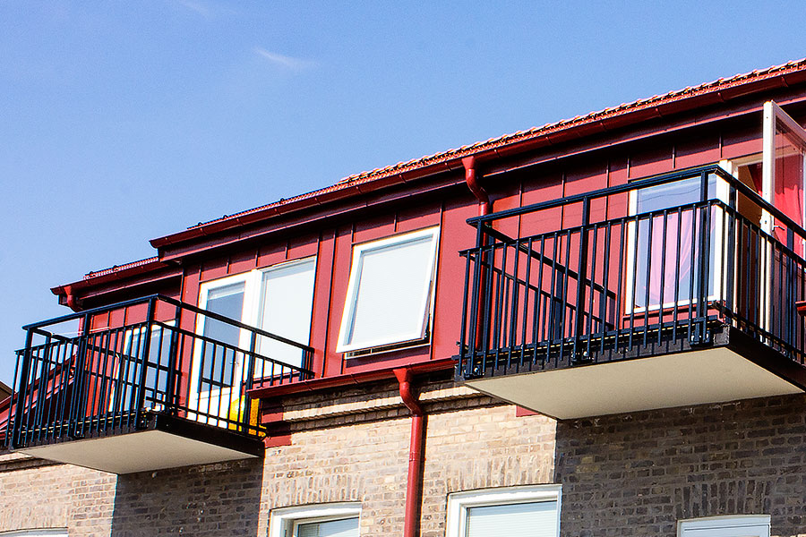 Landskrona balkongarbete