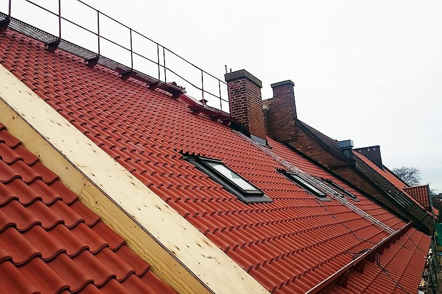 Takrenovering i Landskrona