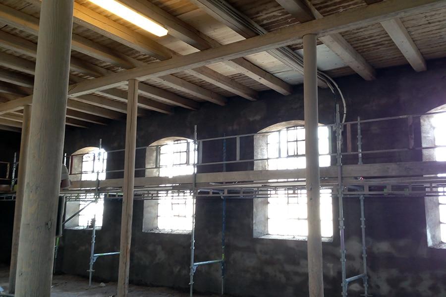 Fasad & Kakel renovering av Oxhallen i Helsingborg