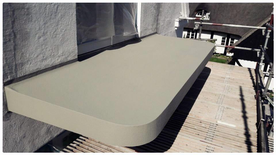 Renovering av balkongplattor i Viken